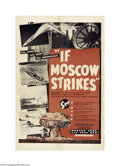Movie Posters:Drama, If Moscow Strikes (Goodman and Kaufman, 1952)...