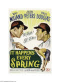 Movie Posters:Sports, It Happens Every Spring (20th Century Fox, 1949)....
