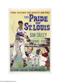 Movie Posters:Sports, The Pride of St. Louis (20th Century Fox, 1952)....