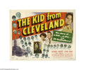 Movie Posters:Sports, The Kid From Cleveland (Republic, 1949)....