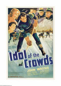 Movie Posters:Sports, Idol of the Crowds (Universal, 1937)...