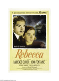 Movie Posters:Hitchcock, Rebecca (United Artists, R-1946)...
