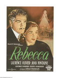 Movie Posters:Hitchcock, Rebecca (United Artists, 1940)...