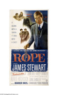 Movie Posters:Hitchcock, Rope (Warner Brothers, 1948)...
