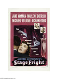 Movie Posters:Drama, Stage Fright (Warner Brothers, 1950)...