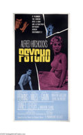 Movie Posters:Hitchcock, Psycho (Paramount, 1960)...