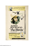 Movie Posters:Hitchcock, The Birds (Universal, 1963)...