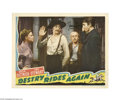 Movie Posters:Western, Destry Rides Again (Universal, 1939)...