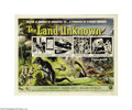 Movie Posters:Science Fiction, Land Unknown (Universal, 1957)....