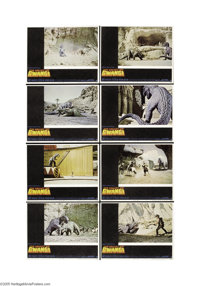 Valley of the Gwangi (Warner Brothers, 1969)... (8 items)