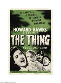Movie Posters:Science Fiction, The Thing From Another World (RKO, R-1954)...