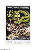 Movie Posters:Fantasy, The Viking Women and the Sea Serpent (AIP, 1957)...