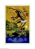 Movie Posters:Science Fiction, The Amazing Colossal Man (AIP, 1957)...