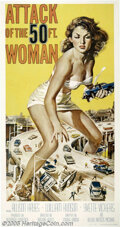 Movie Posters:Science Fiction, Attack of the 50 Foot Woman (Allied Artists, 1958)...