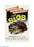 Movie Posters:Science Fiction, The Blob (Paramount, 1958)...