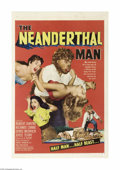 Movie Posters:Horror, Neanderthal Man (United Artists, 1953)...