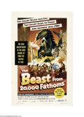 Movie Posters:Science Fiction, Beast From 20,000 Fathoms (Warner Brothers, 1953)...