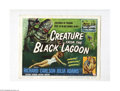 Movie Posters:Horror, Creature From the Black Lagoon (Universal International, 1954)...