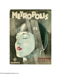 Movie Posters:Science Fiction, Metropolis (UFA, 1927)....