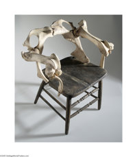 "Screen-Used Bone Chair from ""The Texas Chainsaw Massacre"" (Bryanston, 1974)"