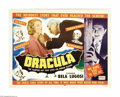 Movie Posters:Horror, Dracula (Realart, R-1951)...