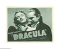 Movie Posters:Horror, Dracula (Universal, R-1938)...