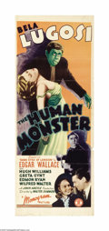 Movie Posters:Horror, Human Monster (Monogram, 1939)...