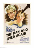 Movie Posters:Horror, The Man Who Lived Again (Gaumont British Picture Corp., 1936)... (2items)