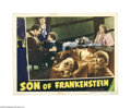 Movie Posters:Horror, Son of Frankenstein (Universal, 1939)....