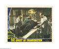 Movie Posters:Horror, Ghost of Frankenstein (Universal, 1942).... (2 items)