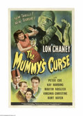 Movie Posters:Western, Mummy's Curse (Universal, 1944)....
