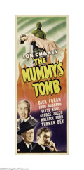 Movie Posters:Horror, The Mummy's Tomb (Universal, 1942)...