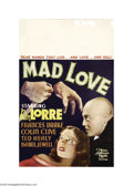 Movie Posters:Horror, Mad Love (MGM, 1935)....