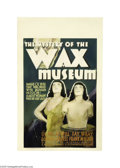 Movie Posters:Horror, The Mystery of the Wax Museum (Warner Brothers, 1933)....