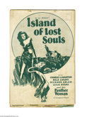 Movie Posters:Horror, Island of Lost Souls (Paramount, 1933)...