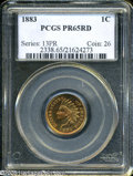 Proof Indian Cents: , 1883 1C PR 65 Red PCGS. ...