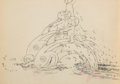 Animation Art:Production Drawing, Water Babies Animation Drawing (Walt Disney, 1935)....