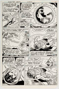 Original Comic Art:Panel Pages, Curt Swan and Frank Chiaramonte Superman #357 Story Page 11Original Art (DC, 1981)....