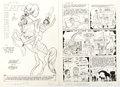 "Original Comic Art:Complete Story, Bill Woggon Katy Keene #53 Complete 6-Page Story ""A CircusAt The Circus With K.O."" Original Art (Archie Comics, 1... (Total:6 Original Art)"