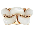 Estate Jewelry:Rings, Mother-of-Pearl, Rose Gold Ring, Chimento . ...