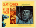 """Movie Posters:Western, High Noon (United Artists, 1952). Very Fine- on Linen. Half Sheet (22"""" X 28"""") Style A.. ..."""