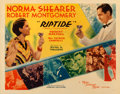 "Movie Posters:Drama, Riptide (MGM, 1934). Fine+ on Paper. Half Sheet (22"" X 28"") Style B.. ..."