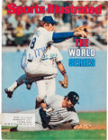 Baseball Collectibles:Photos, 1977 Thurman Munson Signed Sports Illustrated Cover.