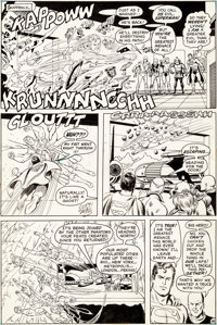 Curt Swan and Murphy Anderson Action Comics #417 Story Page 14 Original Art (DC, 1972)