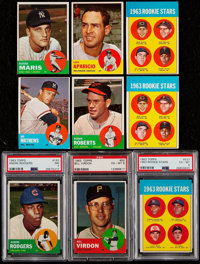 1963 Topps Baseball Collection (273) - Includes #537 Rose PSA EX-MT 6