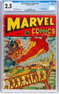 Golden Age (1938-1955):Superhero, Marvel Mystery Comics #36 (Timely, 1942) CGC GD+ 2.5 Off-white pages....