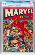 Golden Age (1938-1955):Superhero, Marvel Mystery Comics #51 (Timely, 1944) CGC VF/NM 9.0 Cream to off-white pages....
