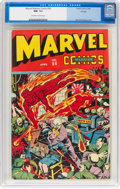 Golden Age (1938-1955):Superhero, Marvel Mystery Comics #54 Chicago Pedigree (Timely, 1944) CGC NM- 9.2 Off-white to white pages....