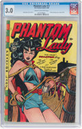 Golden Age (1938-1955):Superhero, Phantom Lady #17 (Fox Features Syndicate, 1948) CGC GD/VG 3.0 Cream to off-white pages....