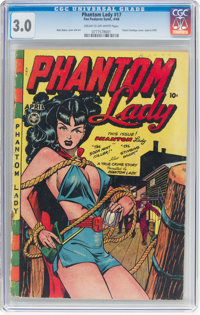 Phantom Lady #17 (Fox Features Syndicate, 1948) CGC GD/VG 3.0 Cream to off-white pages
